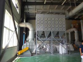 滤袋除尘器-螺旋输送系统