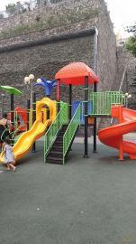 恩施儿童滑梯游乐组合滑梯户外大型滑滑梯