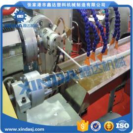 PVC塑筋缠绕排风软管机械|油烟机吸风管设备