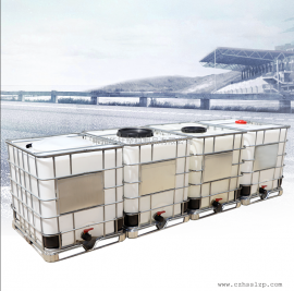 厂家直销1吨吨桶 1立方带铁架化工叉车桶 ibc集装桶