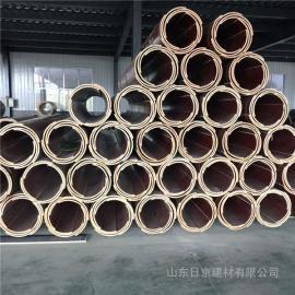 圆柱模_圆柱子模板_圆柱木模板-日京建材厂家直销