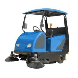 迅之洁驾驶式电动清扫车 社区道路树叶清扫车库灰尘清扫用