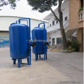 原水净化用石英砂过滤器 去悬浮物泥沙杂质能力强 水净化过滤器
