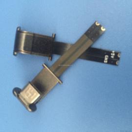 MICRO U型 背夹插头 软排线FPC 2P 正向安卓V8 无线充电公头