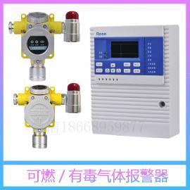 加油站油气浓度报警器 可燃气体泄漏报警器
