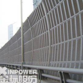 城际线百叶孔型弧形声屏障最新批发