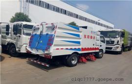 1吨小型扫路车厂家_东风D9道路清扫车