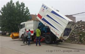 1吨小型扫路车报价_多利卡路面清扫车厂家