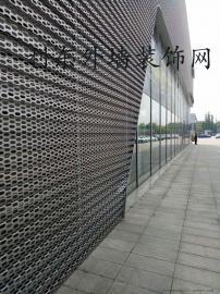 奥迪4S店专用外墙装饰网利东制造