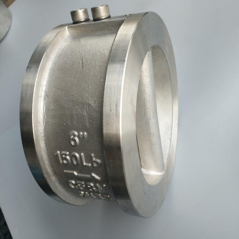 H76X美标对夹式双瓣止回阀