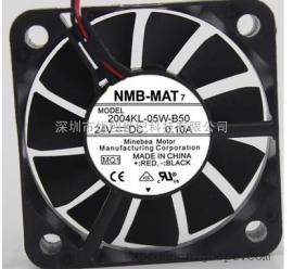 2004KL-05W-B50 24V 0.10A原装美蓓亚NMB 50*50*10ABB变频器风扇
