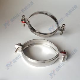 厂家直销不锈钢管卡 不锈钢管夹 不锈钢管箍 不锈钢抱箍 管子夹