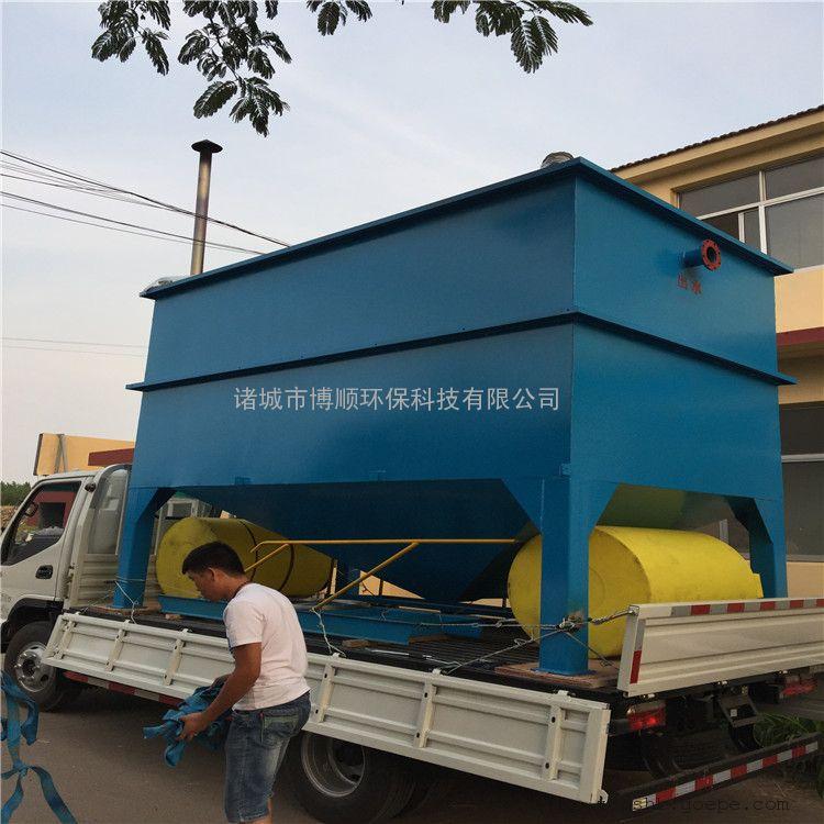 斜管沉淀一体化装置 泥水分离设施 化工 电镀污水处理一体化设备