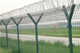机场护栏 密纹网 358防护网坚固年限长 防止攀爬护栏 刀片刺绳