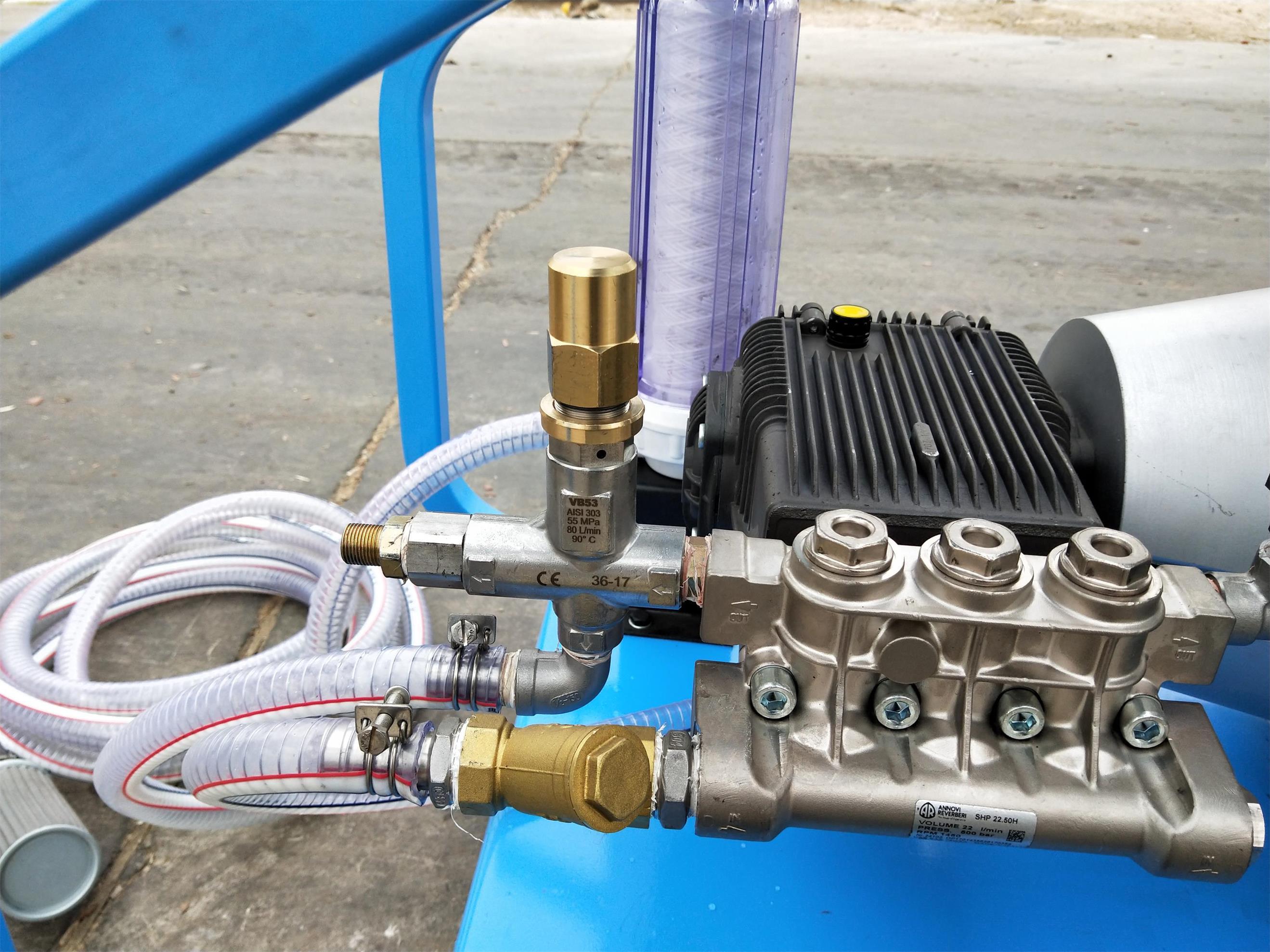 电厂汽轮机高压清洗机
