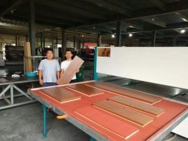 供应真空木纹转印机文件柜木纹转印机