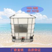滚塑吨桶1吨650口径IBC集装通pe带铁架化工1000L柴油桶