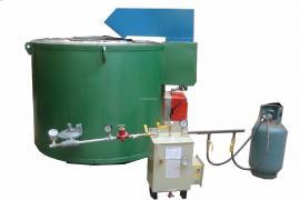 燃气铝合金熔化炉 燃烧机 熔铝炉 坩埚炉天燃气熔炼炉