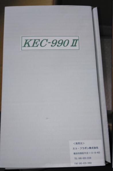 日本进口空气正负离子检测仪KEC-900ii/990ii