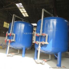 小区生活污水后端处理过滤器 一体化全自动除杂质石英砂过滤罐