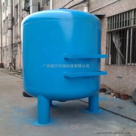 河水湖水除泥沙净化过滤装置 全自动反冲洗石英砂过滤器