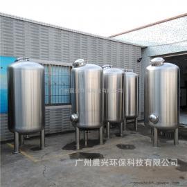 原水除浊净化处理装置 游泳池水净化处理选用碳钢石英砂过滤器