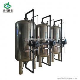厂家定制 工业用水处理装置 全自动反冲洗不锈钢机械过滤器