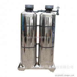 促销食品加工行业离子交换软化水设备 全自动不锈钢软水器