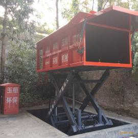 6方水平压缩式垃圾中转设备诚招代理地埋式垃圾中转站