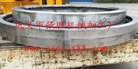 3X25米污泥烘干机滚圈专业定做 污泥烘干机滚圈质量保证