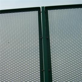 菱形孔高速公路防眩网 高架桥梁防抛网 耐腐蚀钢板网栏厂家定制