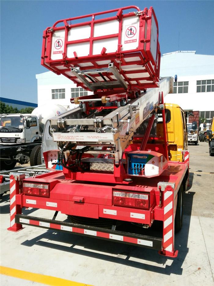 韩国德林28米云梯搬家车厂家