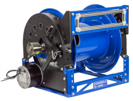 美国COXREELS考克斯工业大型卷管器 气动马达绕管器 进口盘管器