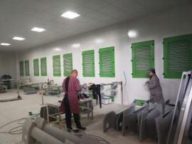 打磨车间粉尘治理设备 打磨房 *化系统化设计定制环保设备