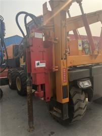 供应920护栏打桩机 液压护栏打桩机 公路波形护栏钻孔机厂家