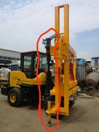 厂家直销乡村道路护栏钻孔机 护栏立柱钻孔机 护栏打拔一体机