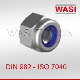 万喜尼龙锁紧螺母DIN982 ISO7040