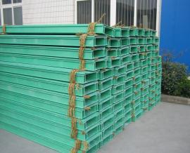玻璃钢电缆桥架厂家穿线槽走线盒梯式绝缘防火耐腐蚀酸碱支架