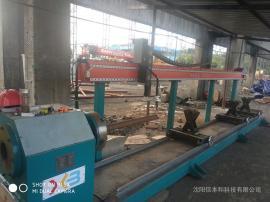 圆管相贯线切割设备,在钢结构中的应用