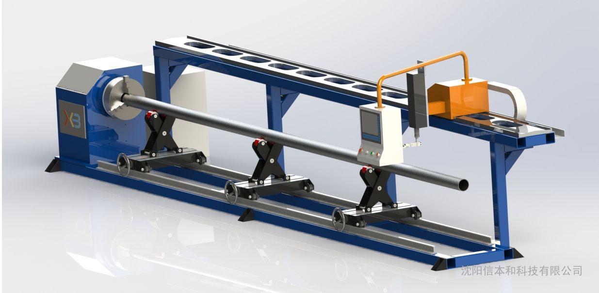 经济型相贯线切割机,数控相贯线切管机