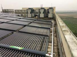 浦东国际机场过夜楼太阳能热水系统工程