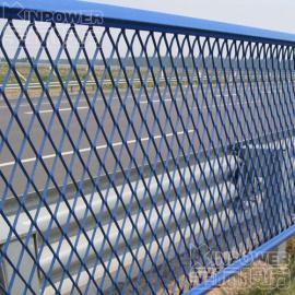 高速钢板网隔离栅 钢板网隔离栅防腐处理