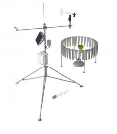 MetPRO科研级大规模便携式主动工作环境站