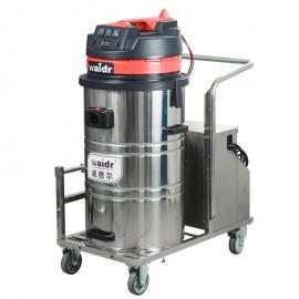 锂电池工业吸尘器 工业厂厂房空中推吸式粉末吸尘机WD-80P