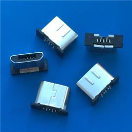 超短�w/MICRO�o�充 B型USB公�^5P 外露5.5 ��L�w6.0