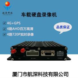 航深科技4G视屏机 校车/工程车视频监控主机