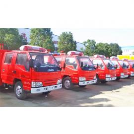 卖消防车厂家--重汽HOWO8吨水罐消防车