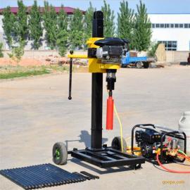 厂家供应30米背包钻机 取芯勘探钻机 操作简单移动方便山地钻机