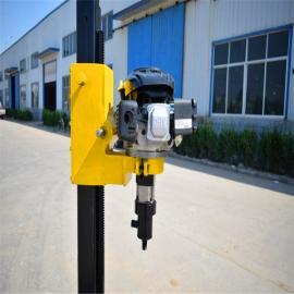 *制造小型背包式岩心钻机、轻便快捷高效30米山地勘探钻机