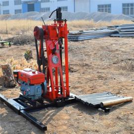 HR-50山地钻机适用于各种环境便携式取芯勘探回转式汽油机